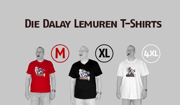 Die Dalay Lemuren T-Shirts