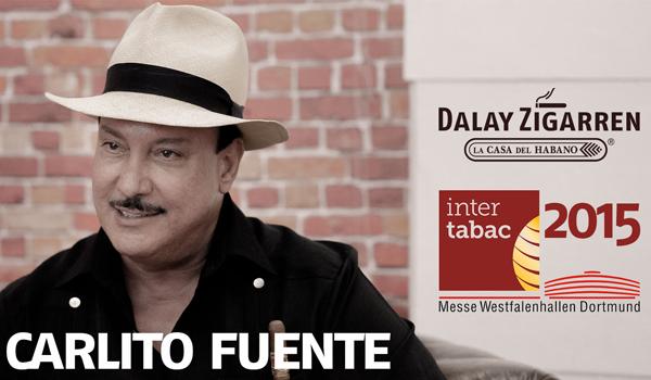 Interview mit Carlito Fuente auf der Intertabac 2015
