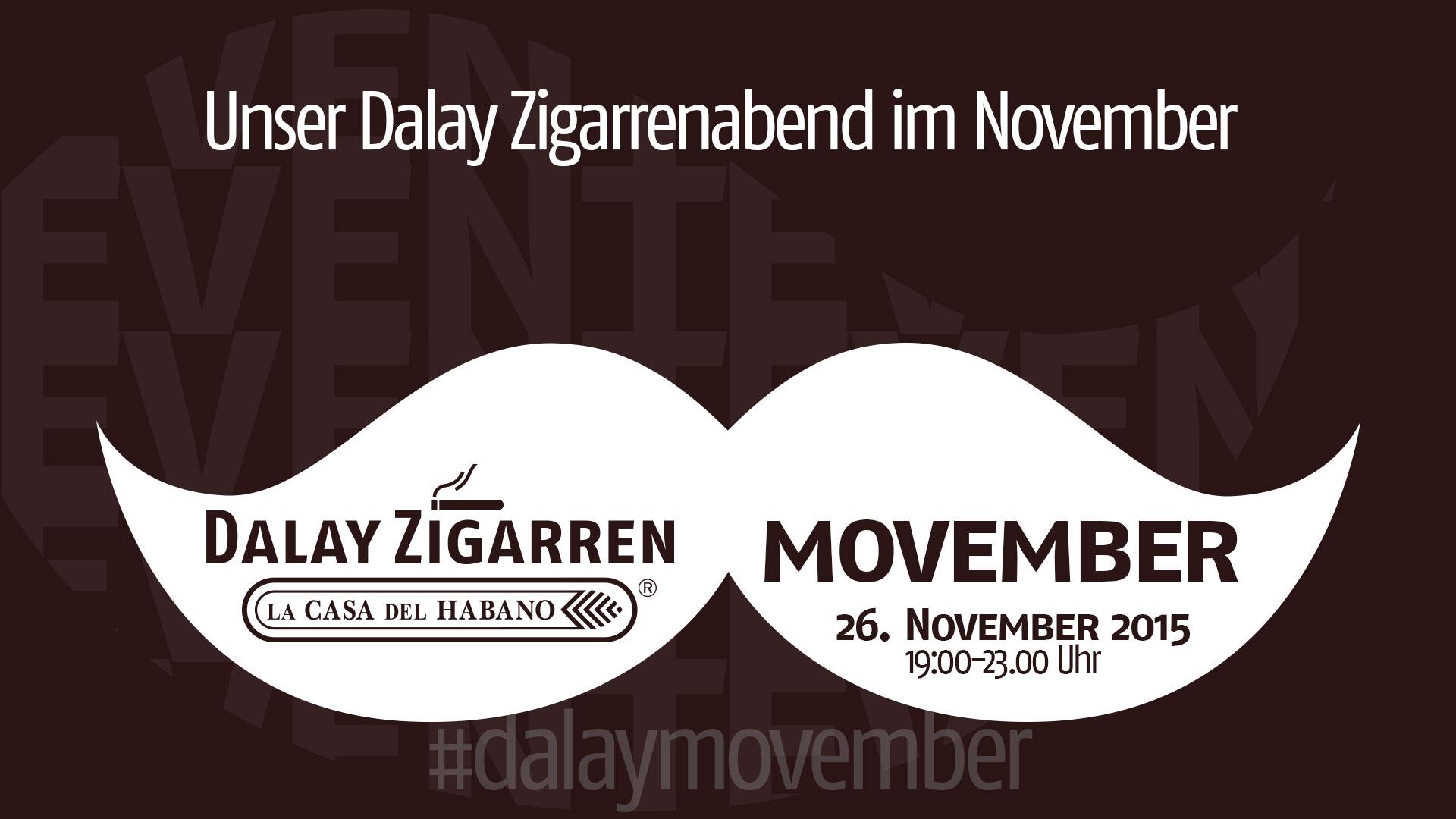 Dalay Zigarrenabend Movember