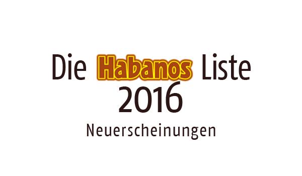 Habanos Neuerscheinungen 2016