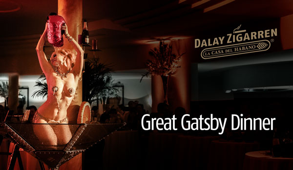 The Great Gatsby Dinner im Victor's Residenz-Hotel Schloss Berg