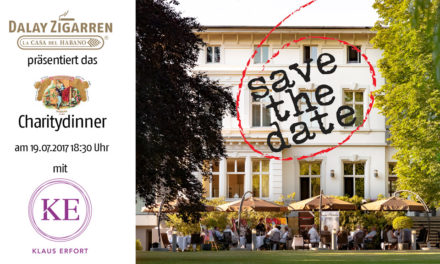 Charity Dinner 2017 – Save the Date