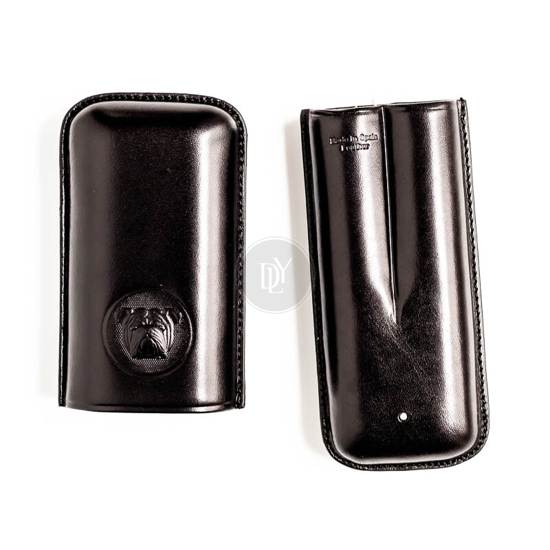 Dunhill Bulldog Cigar Case 2er Robusto