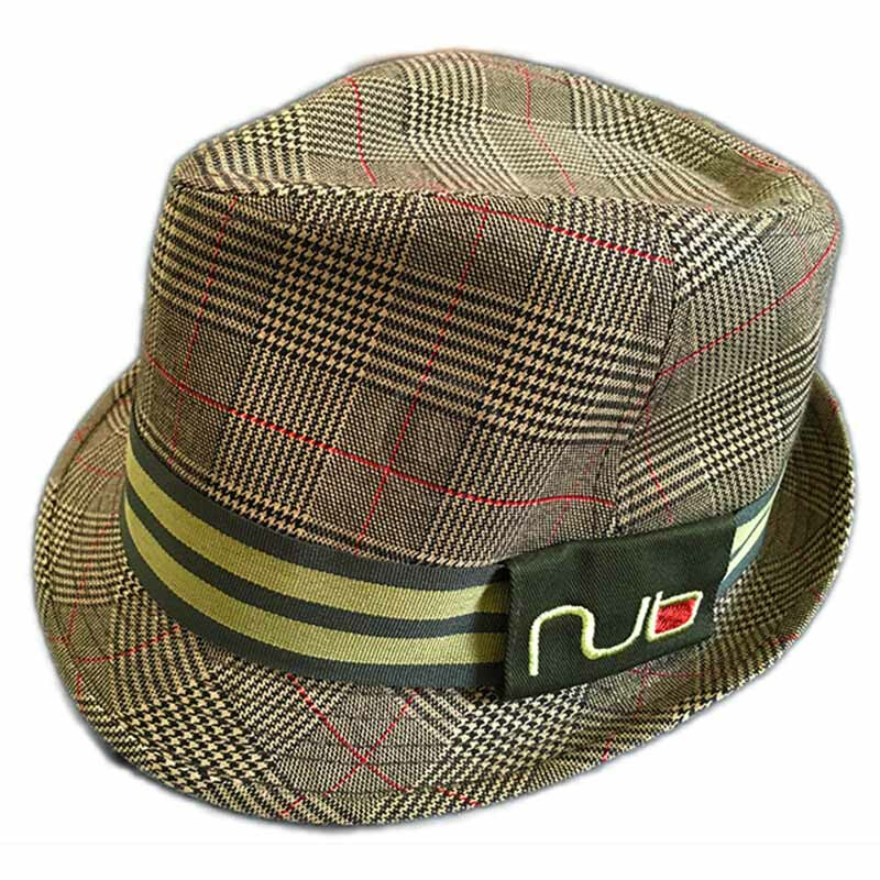 nub Fedora Plaid