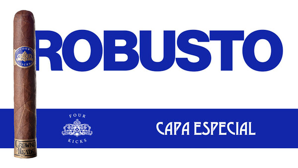 Crowned Heads Four Kicks Capa Especial Robusto Einzeln