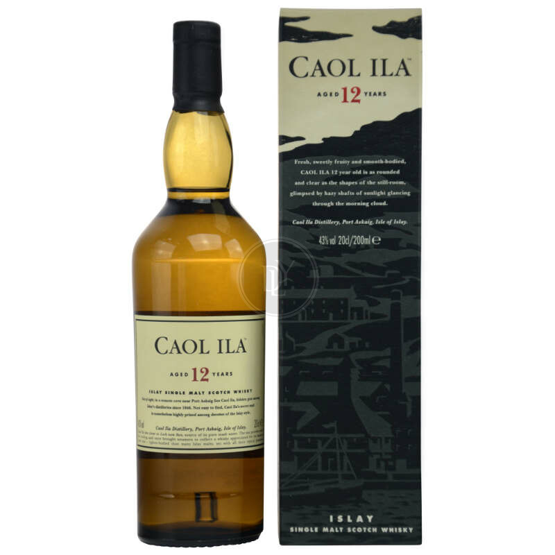 Caol Ila 12 Jahre Islay Single Malt Whisky 200ml