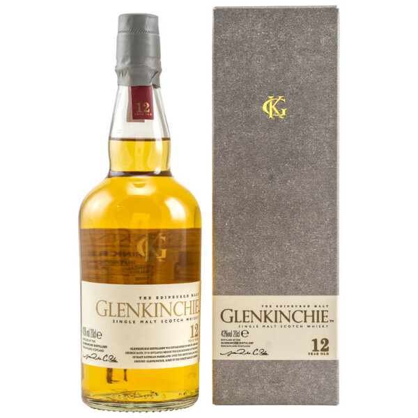 Glenkinchie 12 Jahre Lowland Single Malt Whisky 200 ml